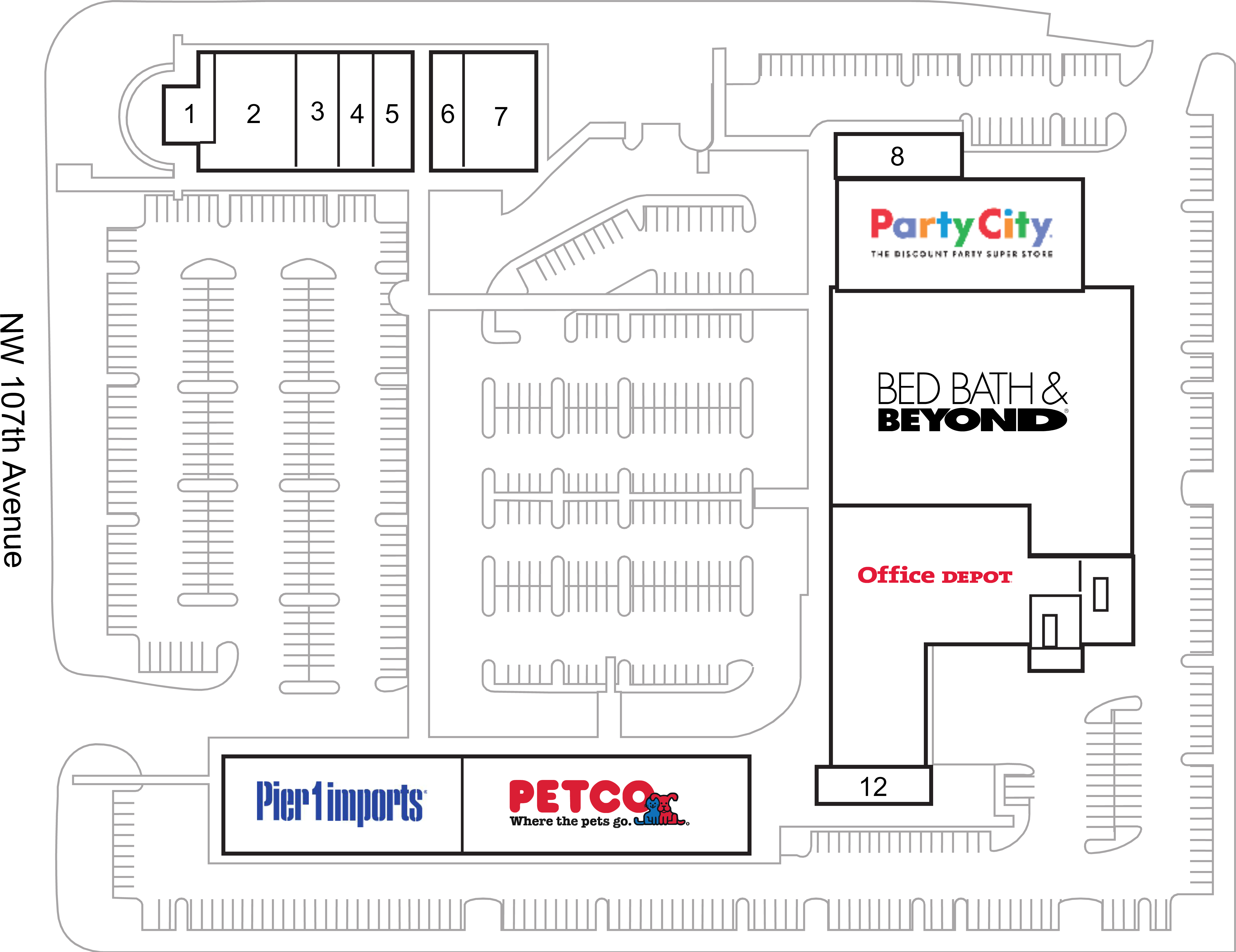 Miami Fl Bed Bath Amp Beyond Plaza Retail Space For Lease