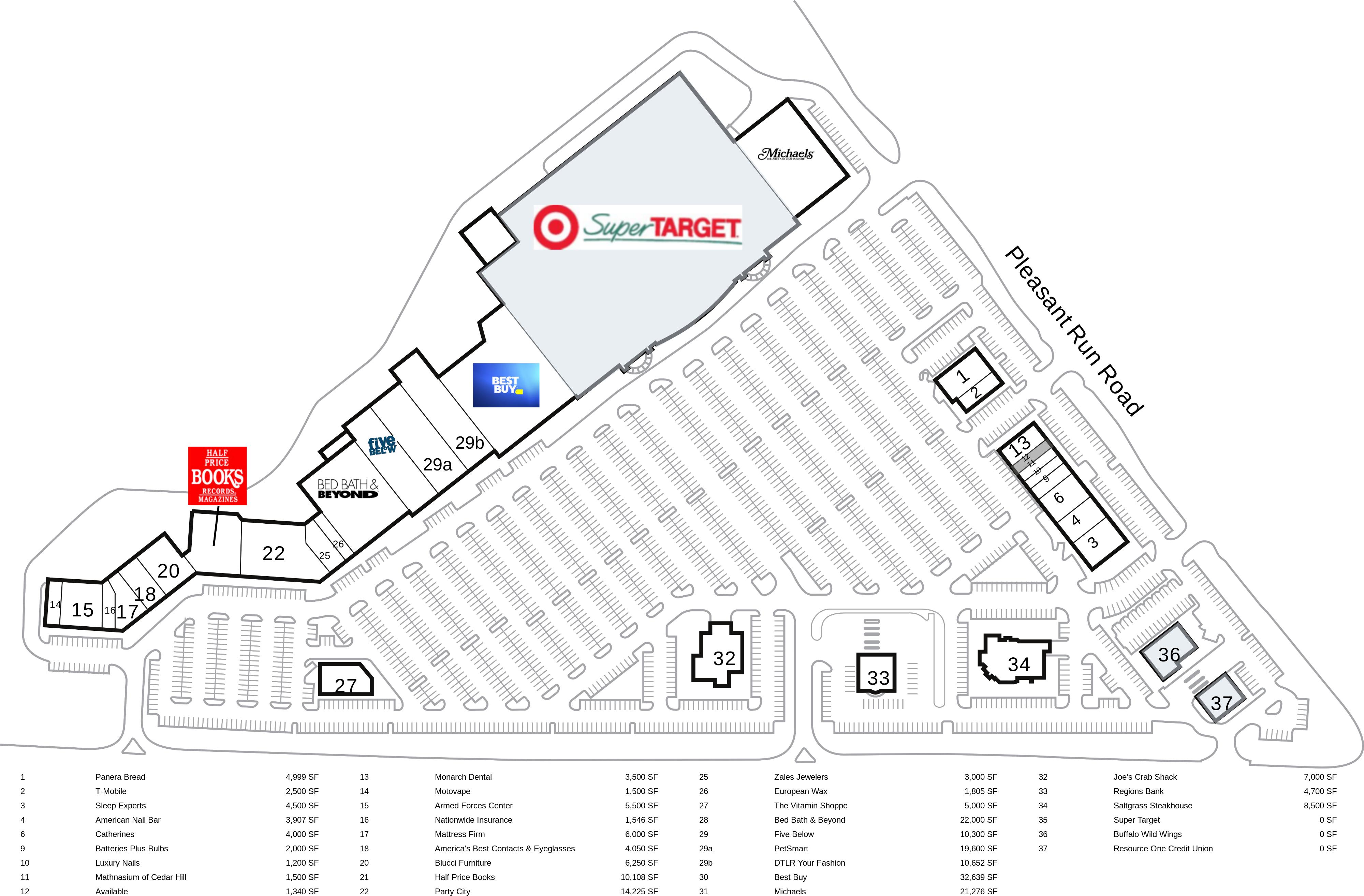 Cedar Hill TX: Pleasant Run Towne Crossing - Retail Space For Lease ...