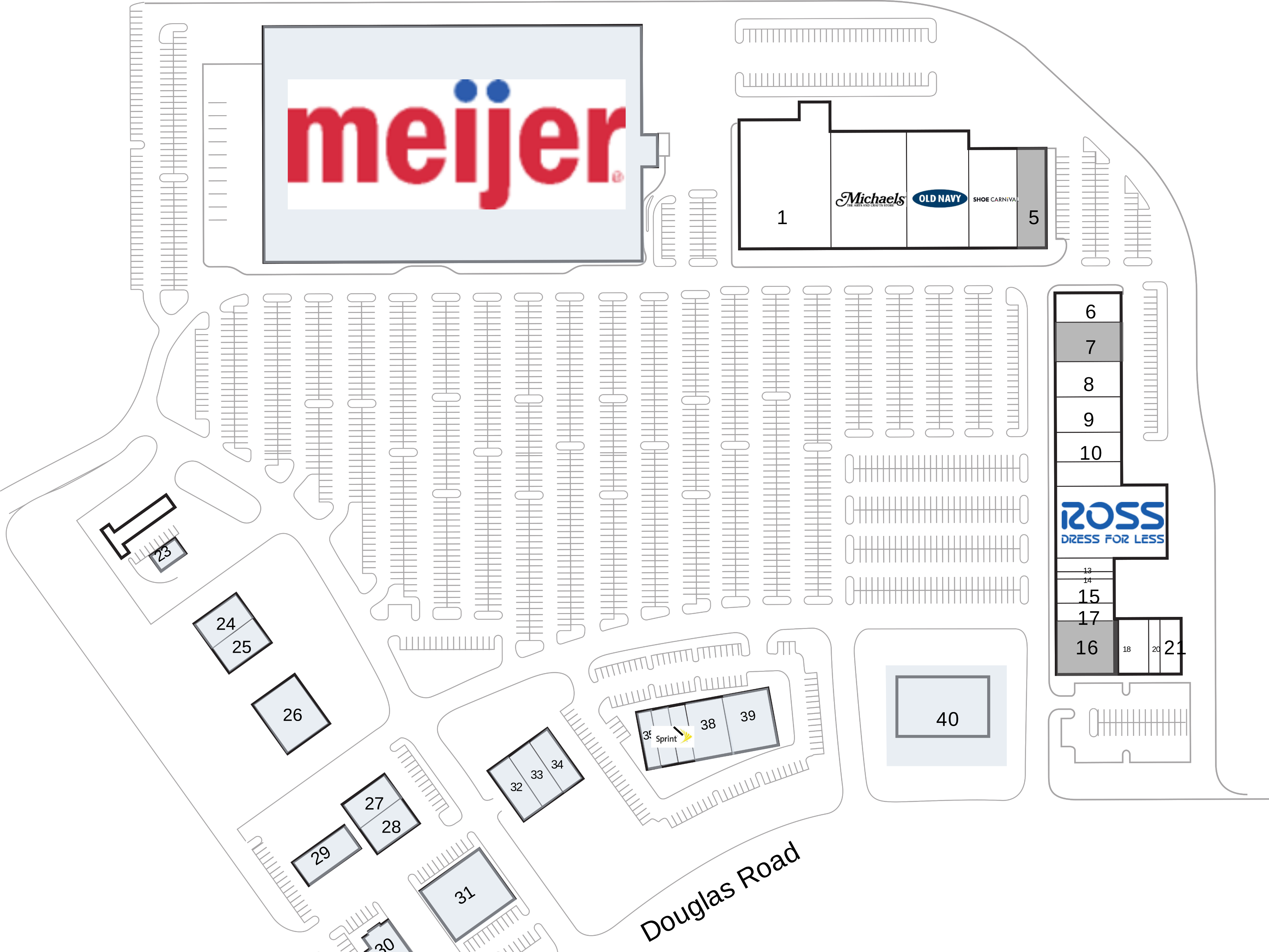 Oswego IL: Gerry Centennial Plaza - Retail Space For Lease
